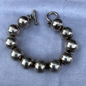 Iconic Sterling Silver Ball Bead Bracelet